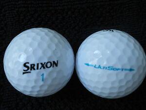 40-SRIXON-034-ULTISOFT-034-Golf-balls-034-PEARL-A-034-Grades