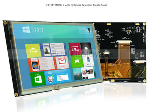 7-034-7-inch-TFT-LCD-Display-Module-w-R-Touch-Screen-Panel-I2C-Serial-SPI-Tutorial