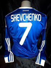 Dynamo Kiev player issue shirt long sleeved SHEVCHENKO 7 adidas formotion