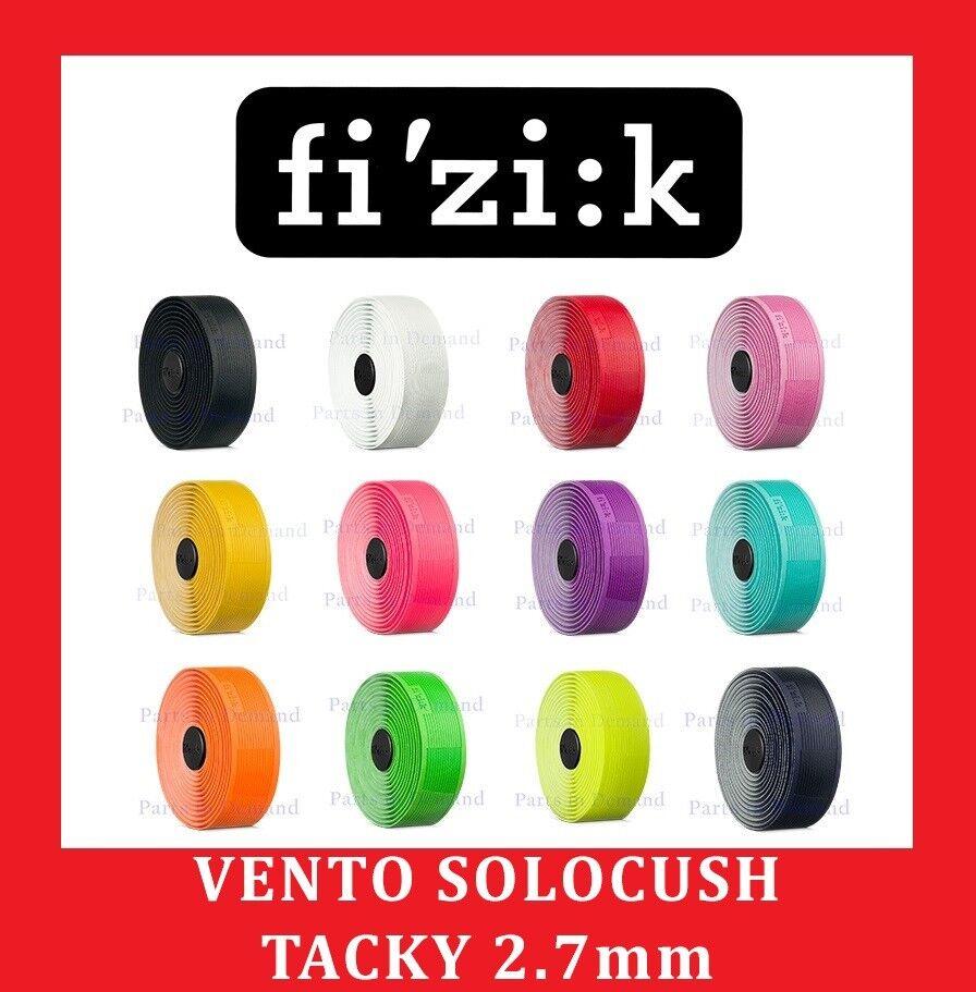 FLUO YELLOW Fizik Vento Endurance Solocush Tacky 2.7mm Road Bike Handlebar Tape