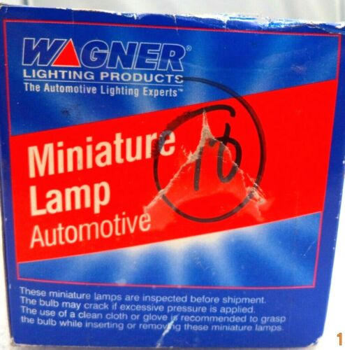 p//n 307 Wagner 307 10-Piece 24V 21CP Minature Lamps