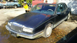 Winter project 89 Buick Riviera