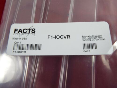 AUTOMATION DIRECT~FACTS ENGINEERING  F1-IOCVR DL105 TERMINAL BLOCK COVERS  REPL