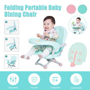 Multifunctional Folding Portable High Chair Table Baby Child Dining Feeding Seat