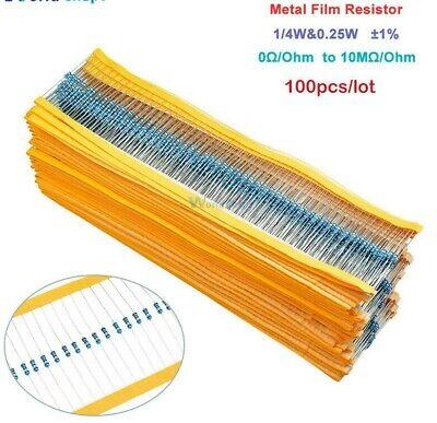 or 100 x 1k Ohm Carbon Film Resistors 1//4 Watt qt,10,20,50 Fast USA shipping