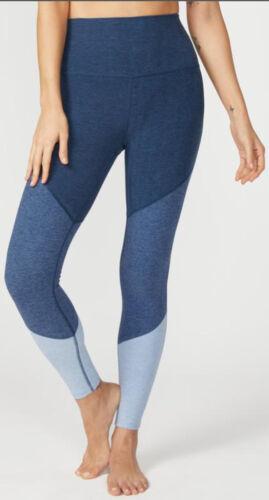 Beyond Yoga Spacedye Color Blue Trio Leggings Size
