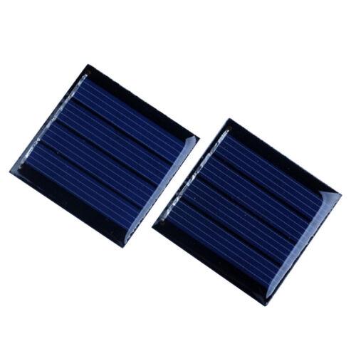 2pcs 2V//5.5.V Solarzelle Solar Zelle Solarmodul Solarpanel