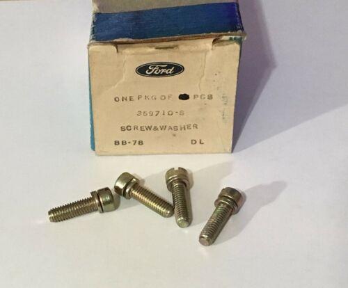 "NOS Ford Screw No Lock Washer 12-28 Thread 3//4/"" 359710-S Fillister Head"