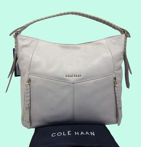 d5c19f2c9924 COLE HAAN  FELICITY  Paloma Leather Hobo Shoulder Bag Msrp  298.00
