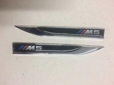 BMW M sport M Performance Badge Sticker side body 3D logo Blade Door Wing Decal