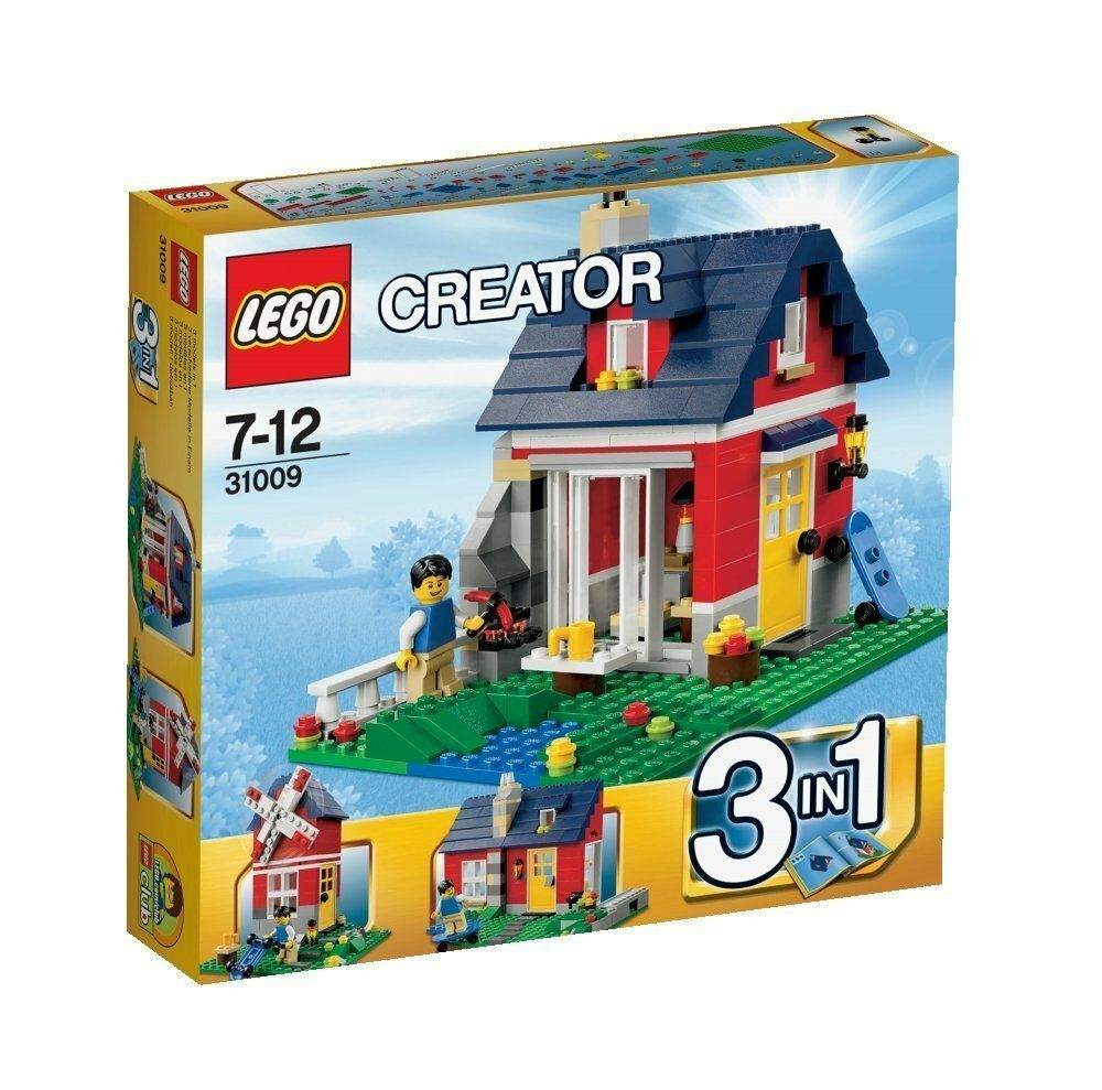Lego Creator 31009 Casa Rustica Nuovo Confezione Originale Misb