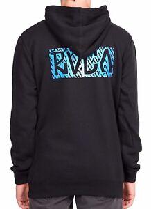 Size 2XL Hooded Jumper NWT Men/'s RVCA Tonally Fleece Hoodie RRP $79.99.