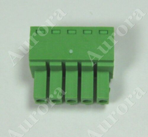 Phoenix Plug 3.5mm //  Pluggable Connector Terminal Block Set of 10 // 5 pin