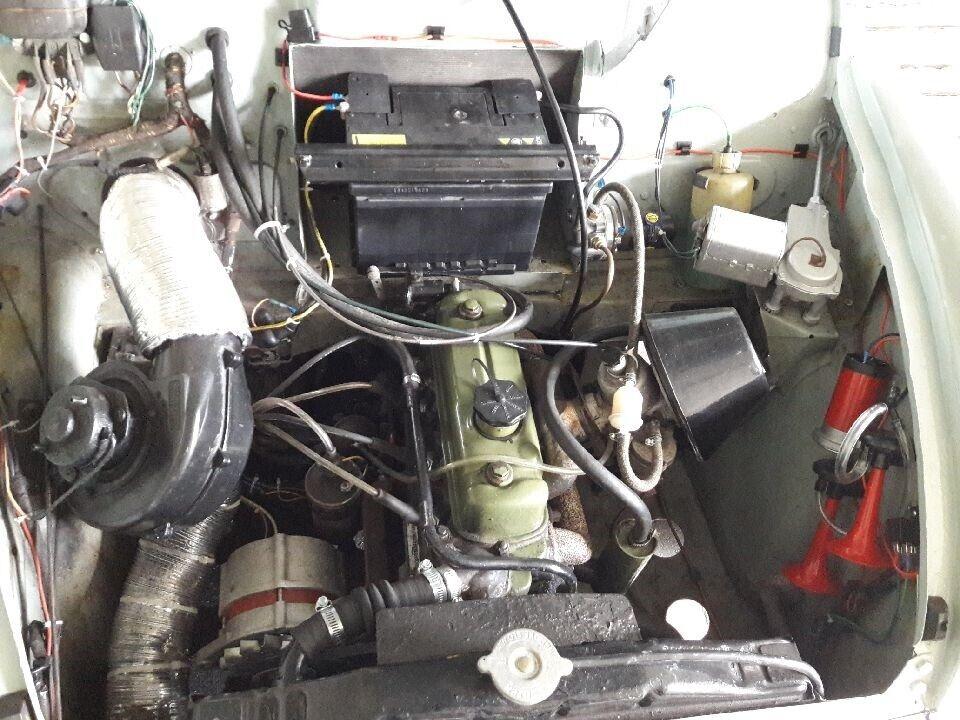 Morris Minor, 1000 Super, Benzin