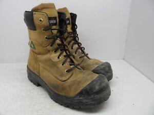 130c5ebda815 Details about Aggressor Men s 8   Lynx II Steel Toe Steel Plate Work Boot  Tan Size 11M