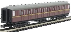Dapol-2P-011-075-N-Gauge-BR-Maroon-Gresley-2nd-Coach-E12053E
