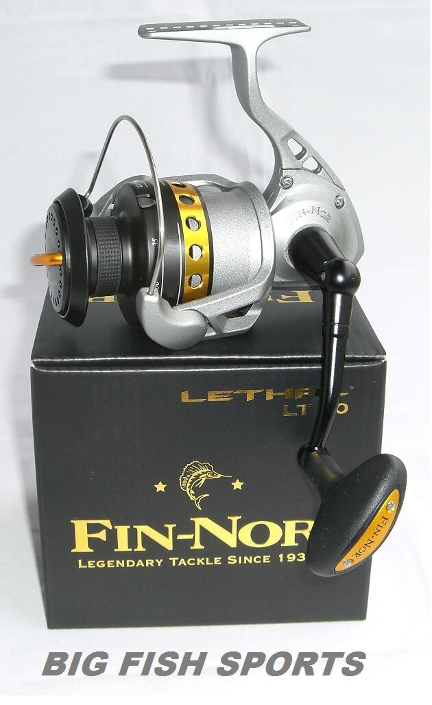 FIN-NOR LETHAL 100 Spinning Reel  LT100 FREE USA SHIPPING  NEW  4.9:1 Gear Ratio