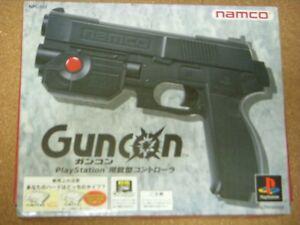 Guncon-Sony-PlayStation-Official-Gun-Controller-PS1-NPC-103-SLPH-00034-Namco
