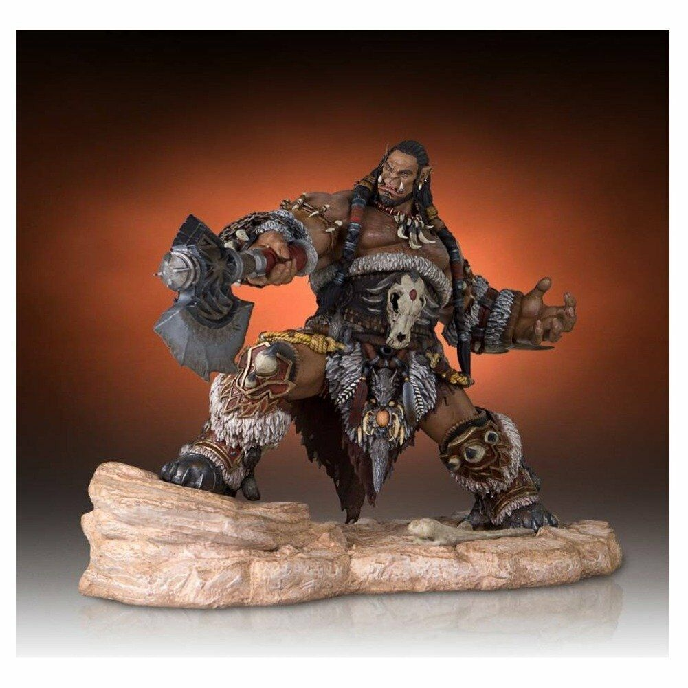 Warcraft Statues - 1 6 Scale Warcraft Movie Durotan Statue