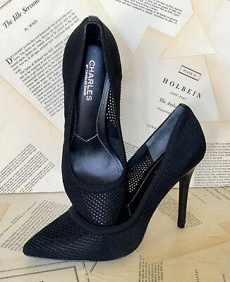 Charles David. Stiletto Shoe Pump black
