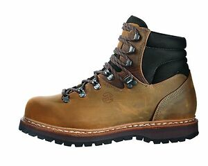 Hanwag-Double-Stitched-Classic-Bergler-Leather-Size-9-5-44-Nut