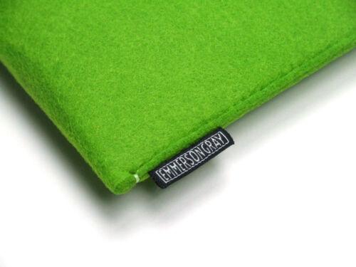 UK made Feltro Custodia Portafoglio Cover IPad 6 colori. perfetta vestibilità 2017