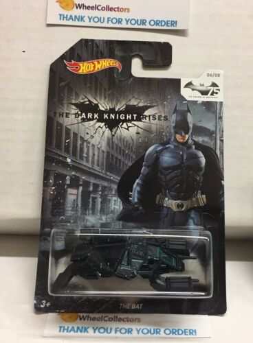 The Bat #6 of 8 * Batman 75th * Hot Wheels * D10 D24 D25