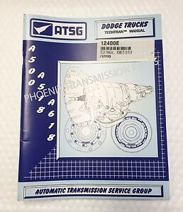 ATSG A500 A518 A618 42RE 42RH 46RE Technical Service Repair Manual