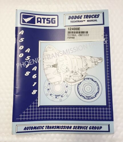 42RH 46RH Transmission Technical Service /& Repair Manual ATSG