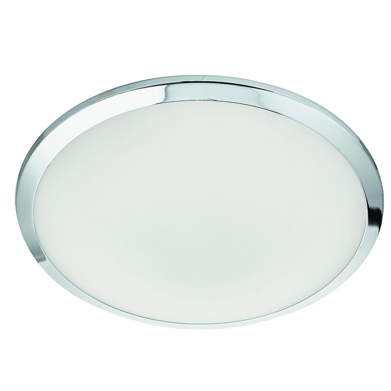 Lámpara de Techo cristal LED Cromo ras de pantalla de cristal Techo esmerilado Luces de oficina en el hogar 3a2549