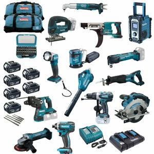 MAKITA-Akku-Werkzeug-MEGA-SET-XXL-20tlg-inkl-DHR280-Kombi-Bohrhammer-36V-uvm