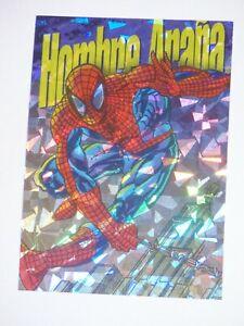 1994-Marvel-Pepsi-Cards-Mexico-PRISM-INSERT-5-Card-HOMBRE-ARANA-SPIDER-MAN