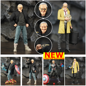 Marvel-Legends-Avengers-Infinity-war-6-034-Stan-Lee-Action-Figure-Exclusive-Custom