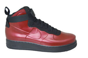 1d0b7144b Mens Nike Air Force 1 Foamposite Cup - AH6771600 - Team Red Black