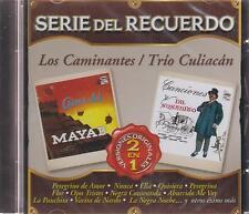 CD - Serie Del Recuerdo 2 En 1 Los Caminantes / Trio Culiacan (Sony) BRAND NEW !