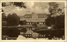 Nakskov Lolland Postkarte 1930 gelaufen Det nue Alderdomshjem Altersheim See