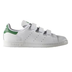 332c56d85062 Adidas Stan Smith Baskets Chaussures pour Hommes Blanc Vert Baskets ...