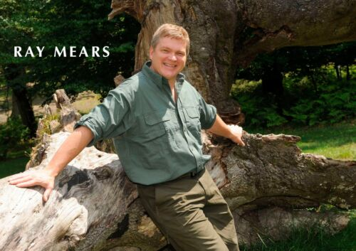 Ray Mears 1 English Woodsman Instructor Businessman Author TV Presenter Poster