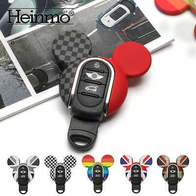Candy ABS Key Fob Case Chain Holder Cover For Mini Cooper F55 F56 F60 F54 F57