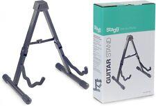 Stagg Supporto pieghevole per chitarra acustica, elettrica-SG-A008/1 BK