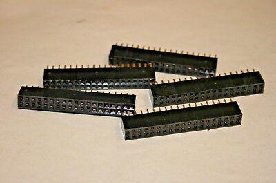 "10 PACK 30-Pin Dual In Line Socket 0.1/"" Spacing 101-407"