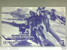Bandai 0177321 HGUC 1/144 Msn-001a1 Delta Plus Gundam Inner Space Clear  Version