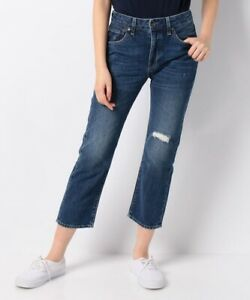 Sz Redone Slim 198 Crafted Made High Jeans Stigning Crop Levis 24 Nwt Distressed AHRwzxq