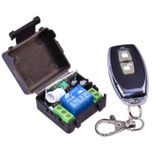Fernbedienung-Relais-Sender-Empfanger-433MHz-RF-Wireless-Remote-Control