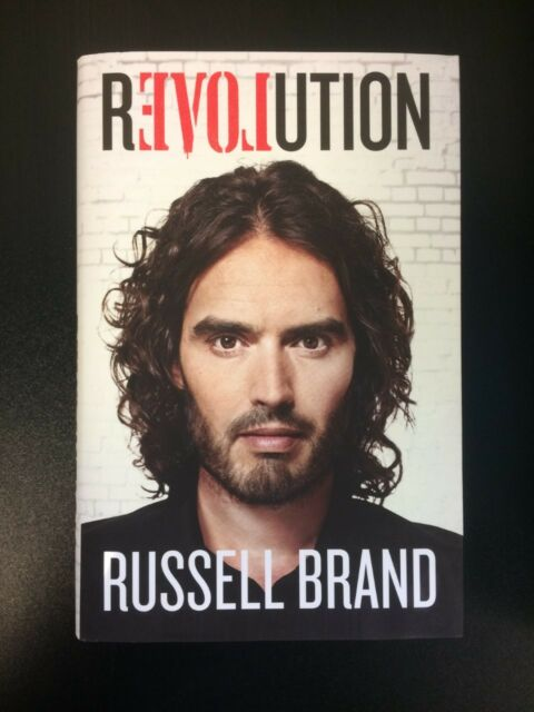 Revolution by Russell Brand (Hardback, 2014) with dust jacket BRAND NEW