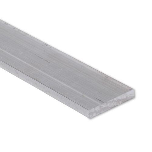 """2/"""" Length 0.375/"""" 3//8/"""" x 2/"""" Aluminum Flat Bar T6511 Mill Stock 6061 Plate"""
