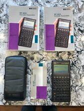 Hewlett Packard Hp 48sx Scientific Expandable Calculator Soft Case Amp 2 Manuals