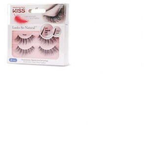 0f43704d938 Image is loading KISS-EYELASHES-Looks-So-Natural-Tapered-end-Lash-