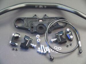 Abm-Superbike-Booster-Lenker-Kit-Honda-CBR-1100-Xx-SC35-97-98-Noir