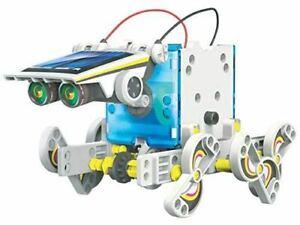 STEM Genius 14 in 1 Solar Vehicle Robot - Build & Play ...